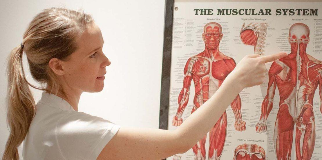Arheden Hälsa erbjuder medicinsk massage.